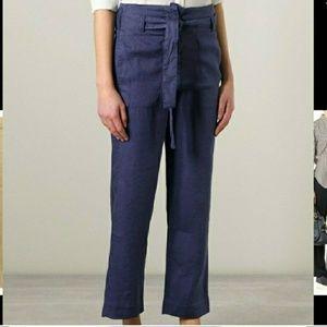 Étoile Isabel Marant Linen pants in Black